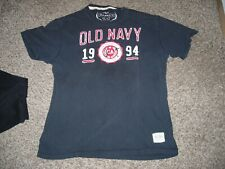 """""""Old Navy"""" sewn logo tee shirt, very good condition, adult Large"""