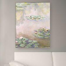 "WANDKINGS Leinwandbild Claude Monet - ""Seerosenteich 1908"" verschiedene Größen"