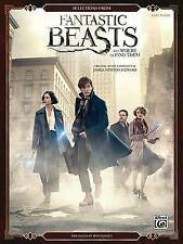 Selections from Fantastic Beasts and Where to Find Them: Easy Piano by Alfred...