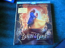 2-Disc-BluRay--Blu--Ray--DVD--Disney's Beauty and the Beast