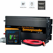 Power Inverter 2500W 5000W 12V 220V Onda Sinusoidale Pura Convertitore Softstart
