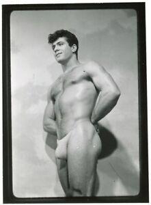 Vintage SIGNED Champion 1960s Contact Print Male Model JOE CANOLI Handsome Hunk