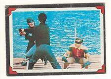 1966 TOPPS BATMAN # 37 SHOWDOWN ON THE SEA - USA RIDDLER CARD - LOOK !!!!!!!