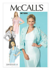 McCall's Sewing Pattern M7289  Misses' 4-14 Easy Shrugs 4 Styles Davidtutera