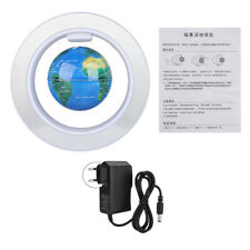 Floating Globe Magnetic Levitation Rotating World Map Globe with LED Light