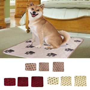Pet Dog Blanket Reusable Dog Training Pads Pet waterproof Pee Pads