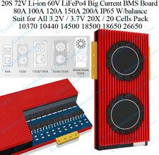 20S 80A 100A 200A 72V 3.7V Li-ion 60V 3.2V LiFePo4 60V Lithium Battery BMS Board
