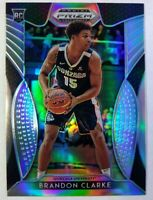 2019-20 Panini Prizm Draft Picks Silver Brandon Clarke Rookie RC #86, Grizzlies