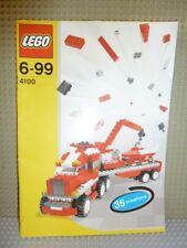 LEGO ® de recette Creator 4100 3 in 1 véhicules ungelocht Instruction