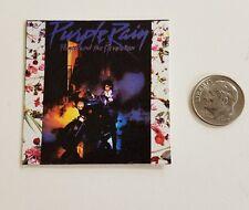 Miniature record album Barbie 1/6 Playscale   Action Figure Prince Purple Rain