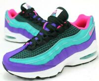 Nike Air Max 95 Basketball Shoe, Women 6.5, Youth 5Y Green Pink White AV2289-300
