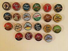 Lot of (22) Different Leinenkugel Beer Bottle Caps