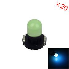 20x Ice Blue AUTO T3 Lamp NEO Dash Twist Socket HVAC Instrument Light 1 LED Z295