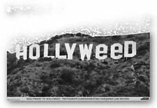 ART PRINT POSTER Hollyweed Danny Finegood MARIJUANA