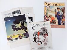 Studebaker The Wheel Brochure Magazine 1931-2 Loose Pages Great Ads