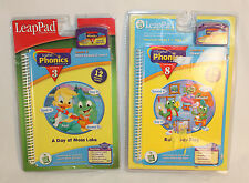 Leap Pad Phonics Program Lessons 3 and 8 Ages 4-7