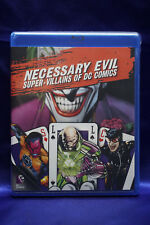 Necessary Evil: Super-Villains of DC Comics (Blu-ray 2013)  NEW