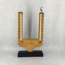 Ancien thermoscope ou thermomètre différentiel de Leslie