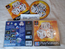 Devil Dice PS1 (COMPLETE) black label Sony Playstation