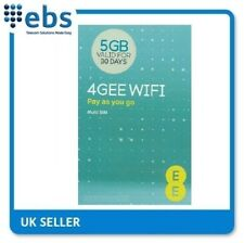 EE PAYG 4G Data Sim Card Preloaded With 5GB