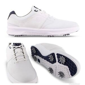 CLOSEOUT - NEW FootJoy Mens Contour Golf Shoes NIB! 54113- White - Choose Size