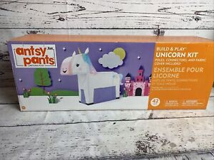 Antsy Pants Build & Play Snap & Click Unicorn Kit Limitless Play Fun Activity