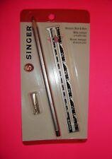 Singer Measure, Mark and More Kit - Hem Gauge, 50 Pleating Pins, 1 Silver Pencil