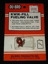 Du-Bro Kwik-Fill Fueling Valve No. 335 - NOS