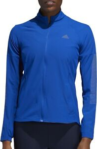 adidas Rise Up N Run Womens Running Jacket - Blue