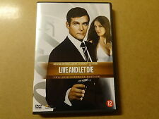 2-DISC ULTIMATE EDITION DVD / JAMES BOND 007 - LIVE AND LET DIE
