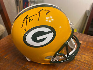 Aaron Rodgers Signed Green Bay Packers Full Size Helmet Steiner Fanatics