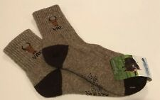 Yak Wool Blend Socks Warm Brown Size XL 40-42 NWT Made In Mongolia