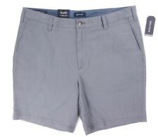 NEW MENS NAUTICA CASTLE ROCK GRAY 8.5'' CLASSIC FIT STRETCH DECK SHORTS SIZE 38