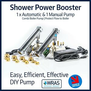 Shower Power Booster Pump Pack | Combination Boiler Solution | Boost Water Flow