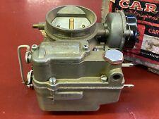1955 1956 HUDSON HORNET SIX 6 CYL 2BBL CARBURETOR CARTER WGD 2252S