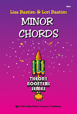 "BASTIEN ""MINOR CHORDS"" THEORY BOOSTERS SERIES PIANO METHOD MUSIC BOOK-NEW-SALE!!"