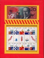 Australien Australia 2010 Notfalldienste 3420-23 II plus Banknote Auflage 500