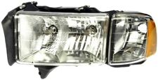 FIT 1999-2002 DODGE RAM 1500-2500-3500 DRIVER LEFT FRONT HEADLIGHT ASSEMBLY