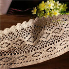 1 Yard Vintage Lace Edge Trim Dress Sewing Cotton Crochet Ribbon Wedding Craft