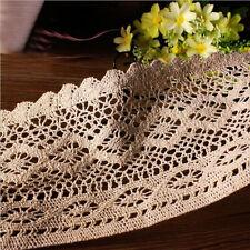 1 Yard Vintage Lace Edge Trim Dress Sewing Cotton Crochet Ribbon Wedding Craft