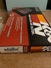 K&N 33-2480 Washable K&N Drop In Air Filter