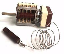 EGO 55.13932.020 Fryer Thermostat & Switch,  D Probe  200°C Single Pole