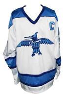 Custom Name # Ross Sheppard HS Retro Hockey Jersey Wayne Gretzky Any Size