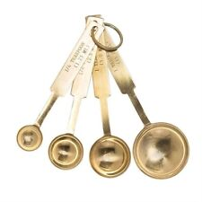 Gold Stainless Steel Measuring Spoons