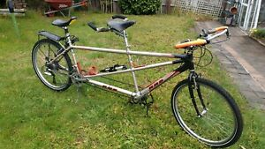 KHS Tandem bicycle, light weight aluminium frame