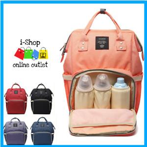 Bag Nappy Diaper Baby Backpack Mummy Maternity Large Storage Organizer Handbag