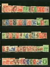 Austrailia outstanding selection of 62 Stamps - CV=$21.70