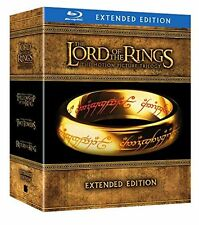 The Lord of the RIngs Trilogy Extended Edition LOTR Blu Ray Sealed Set Hobbit