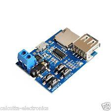 MP3 Format Audio Player U Disk TF Card Amplifier Decoder Board Module