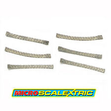 MICRO SCALEXTRIC 1:64 Spares - Standard Pick-up Braids / Brushes x 6